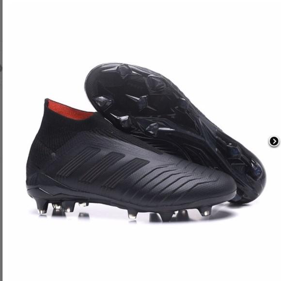 adidas Other - All-Black ADIDAS PREDATOR 18+ size 11 0b61307e3